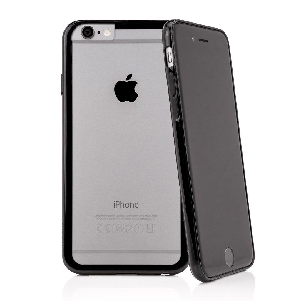 CASEual Outline Skal till iPhone 6 / 6S - Svart/Transparent