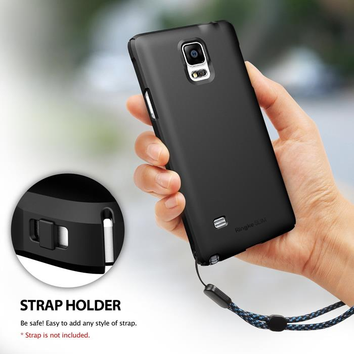 Ringke Slim Dual Coated Skal till Samsung Galaxy Note 4 - Vit