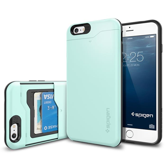 SPIGEN Slim Armor CS Skal till Apple iPhone 6(S) Plus (Mint ... 9a94065dff9cc