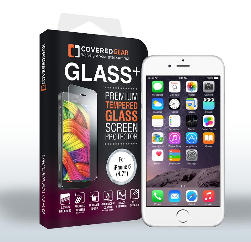 CoveredGear härdat glas skärmskydd till Apple iPhone 6 6S 7 ... 7a51608b0f545