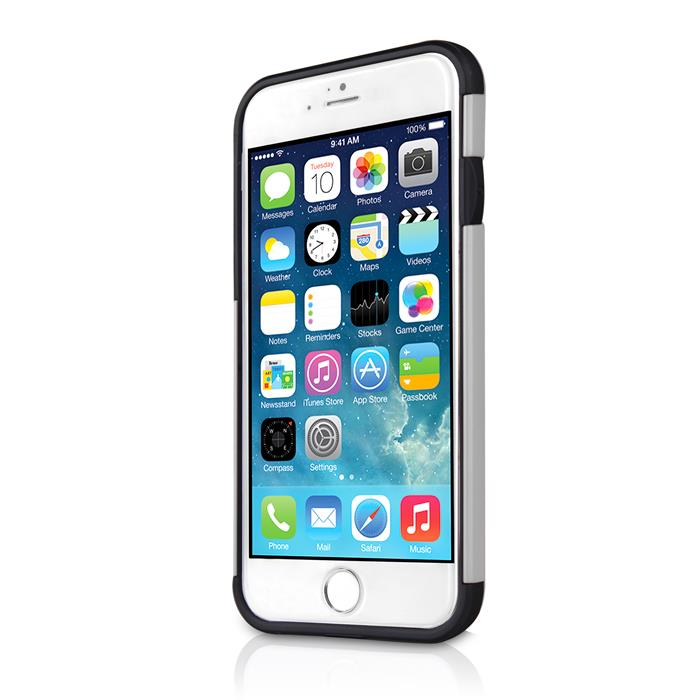 ITSkins Evolution Skal till Apple iPhone 6 / 6S  (Silver)