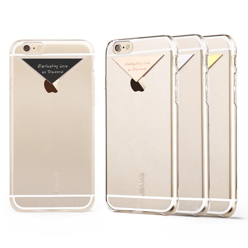Usams BaksideSkal till Apple iPhone 6   6S - Guld - TheMobileStore 01d1bf7d20d8b