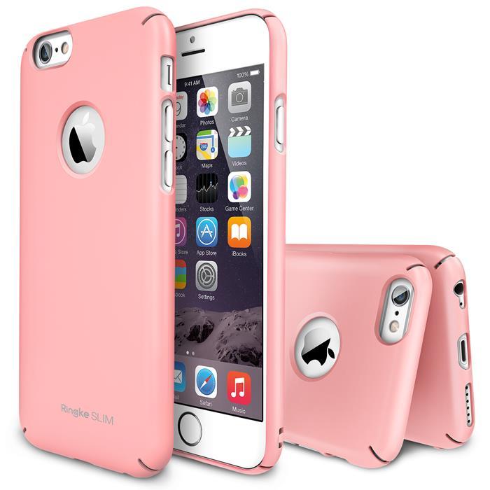 Ringke Logo-Cut Slim Dual Coated Skal till Apple iPhone 6   6S (Rosa ... a95004ac25539