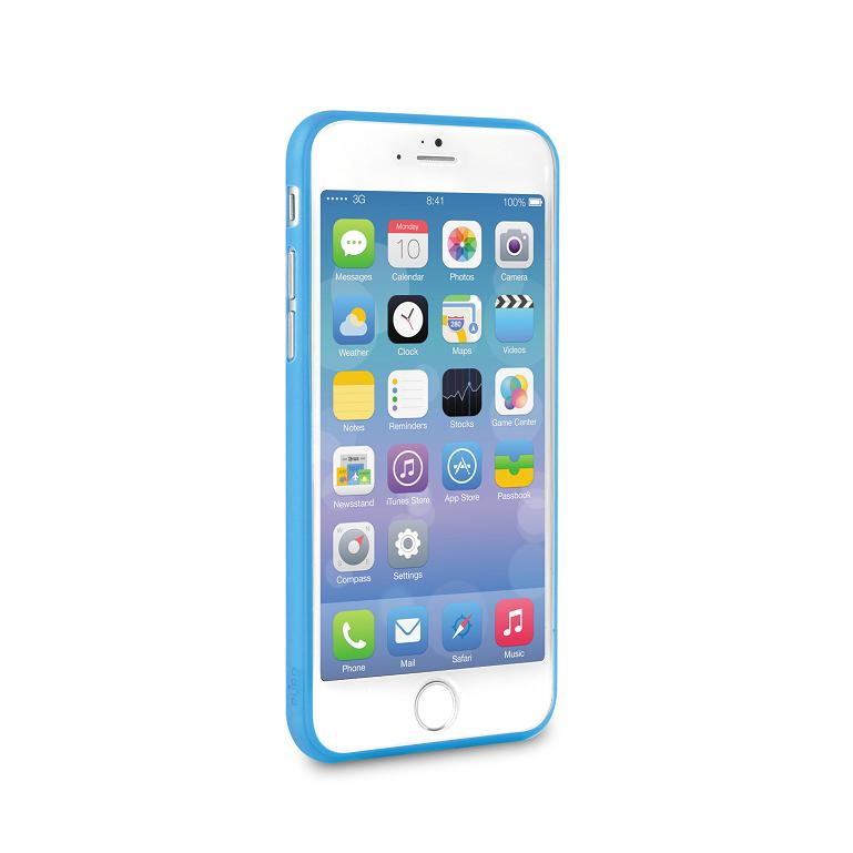 Puro Cover Apple iPhone 6(S) Plus Ultra Slim 0.3 (Blå) + Skärmskydd