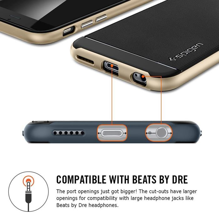 SPIGEN Neo Hybrid Skal till Apple iPhone 6(S) Plus (Vit)