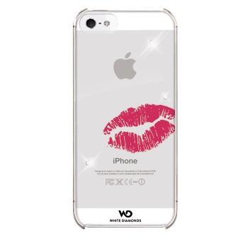 WHITE-DIAMONDS Lipstick Kiss Apple iPhone 5/5S/SERosa