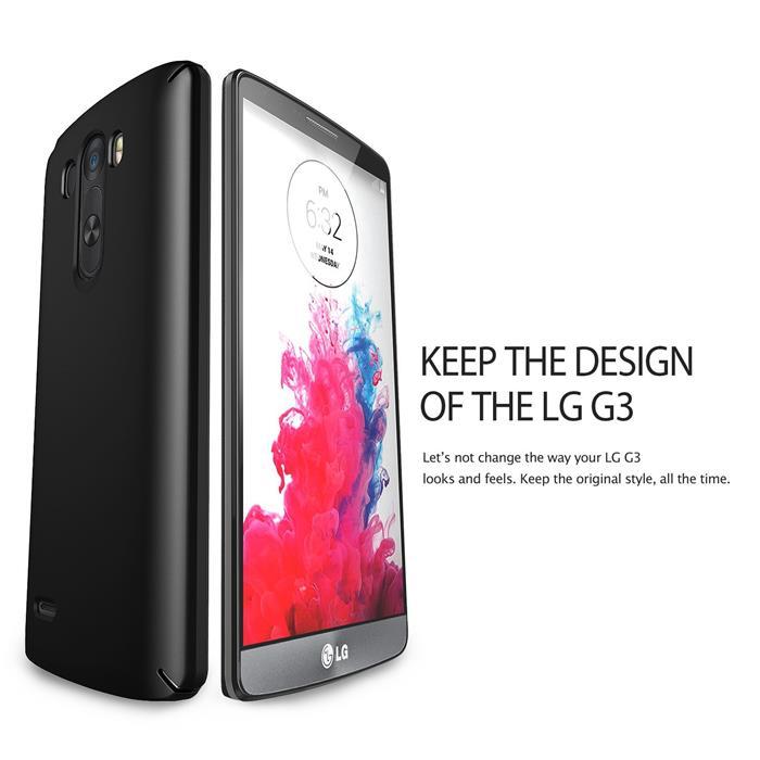 Ringke SLIM Skal till LG G3 D855 (Vit) - TheMobileStore adb4440e4f22e