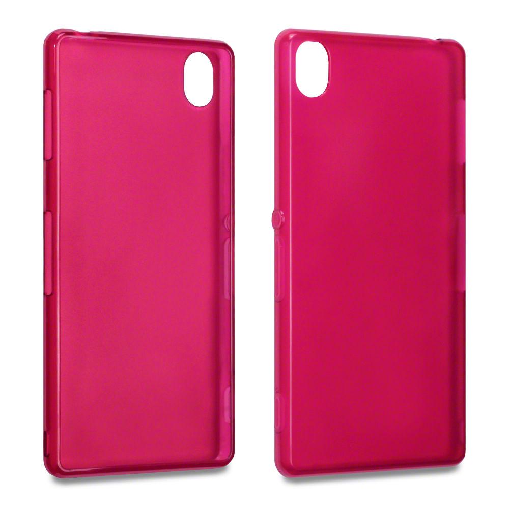 Flexiskal till Sony Xperia Z3 - Röd