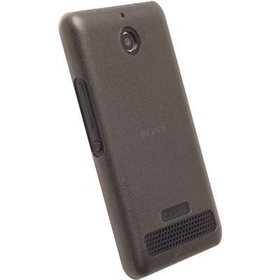 Krusell Frostcover Sony Xperia E1 - Transparent Svart