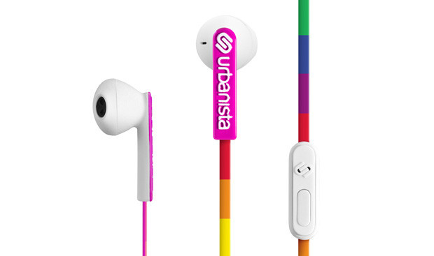 Urbanista San Francisco in-ear hörlurar Lucky Rainbow