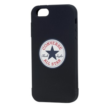 CONVERSE Apple iPhone 5/5S/SE Silicon Svart Skyddsfodral