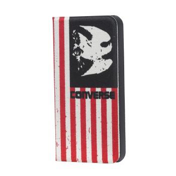 CONVERSE iPhone 5/5S/SE Booklet Americana Canvas