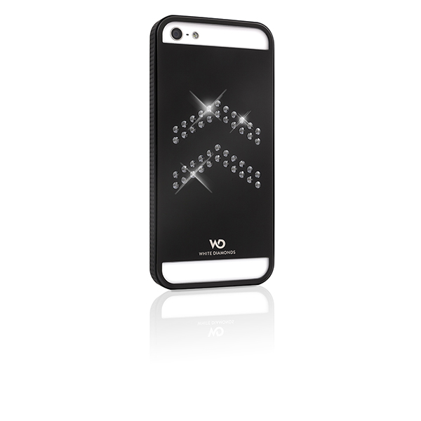 WHITE-DIAMONDS Metal Svart Apple iPhone 5/5S/SEAviator