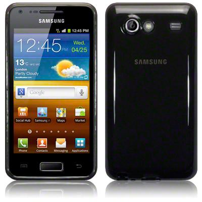 FlexiCase Skal till Samsung S Advance i9070 (Grå)