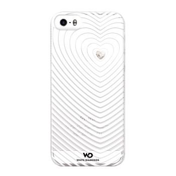 White Diamonds Heartbeat skal till Apple iPhone 5/5S/SE- Vit