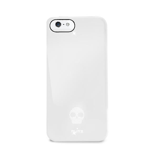 Puro Apple iPhone 55SSE Skull case Vit