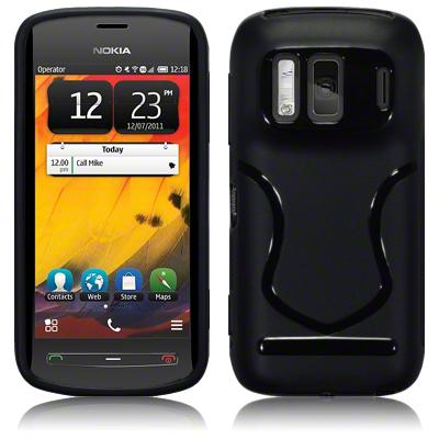 FlexiCase Skal till Nokia 808 PureView (Svart)