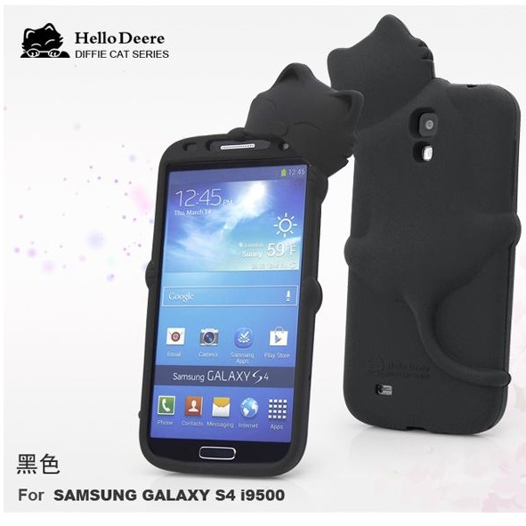 Hello Deere Silikonskal till Samsung Galaxy S4 i9500