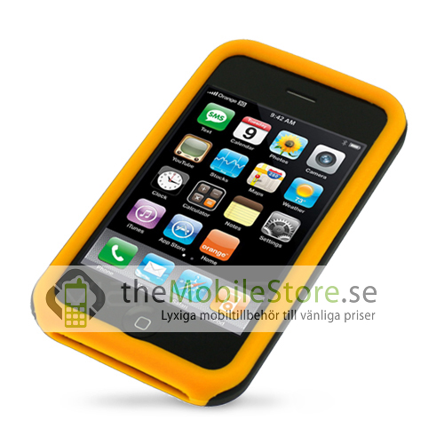 Combo Skal till APPLE iPHONE 3GS (ORANGE)