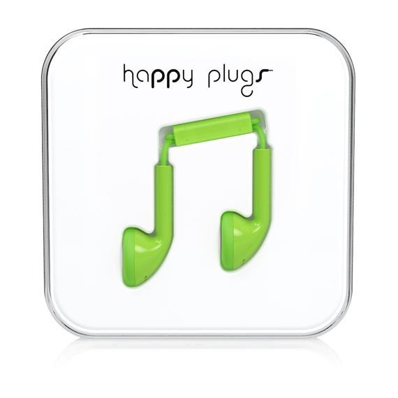 Happy Plugs Earbud (Grön)