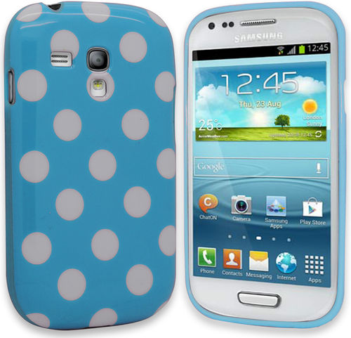 Polka dot FlexiCase Skal till Samsung Galaxy S3 Mini i8190 -