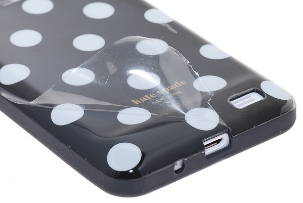 Polka Dots flexiCase skal till iPhone 4 / 4S