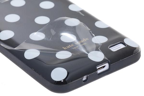 Mobilskal | iPhone 4S/4 | Polka Dots Flexicase