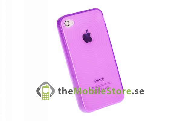 FlexiCase Skal till iPhone 4 (CRC-PU)