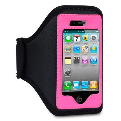 Sportarmband till iPhone 4 / 4G / 3GS (Rosa)