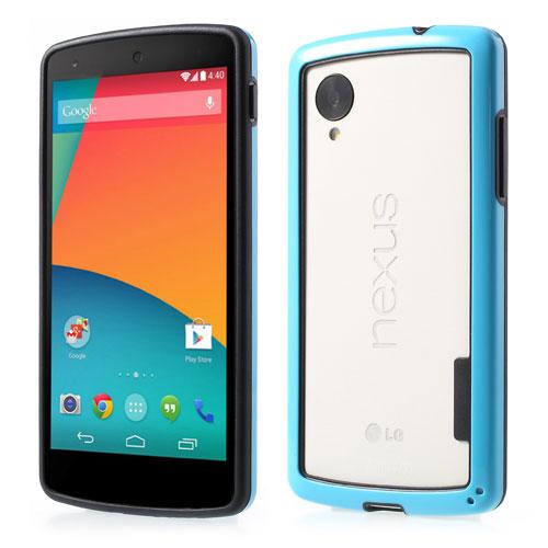 Bumper till LG Nexus 5 - Blå