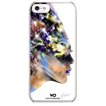 White Diamonds Nafrotiti till Apple iPhone 5/5S/SE- Vit