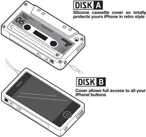 Silikon Skal till iPhone 4 / 4S