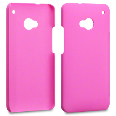 Baksidesskal till HTC ONE / HTC One (M7) (Rosa)