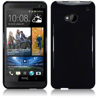 FlexiSkal till HTC One (M7) (Svart)