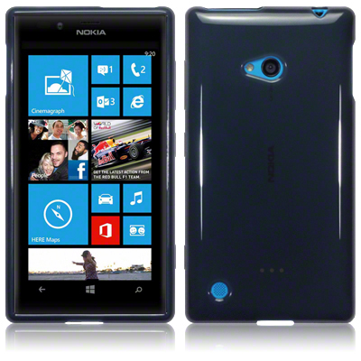 FlexiSkal till Nokia Lumia 720 (Grå)
