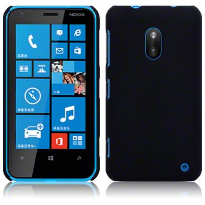 Baksidesskal till Nokia Lumia 620 (Svart)