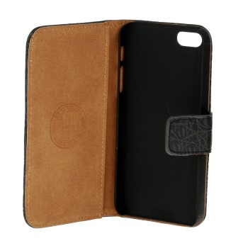 REPLAY Croco mobilfodral till iPhone 5/5S/SE - Svart