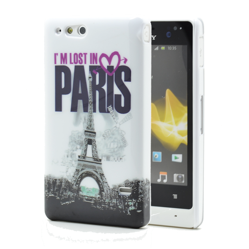 Skal till Sony Xperia Go ST27i - Lost in Paris