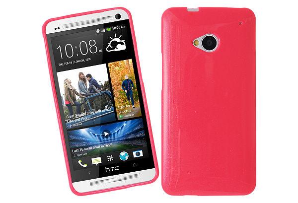 Glittery FlexiSkal till HTC One