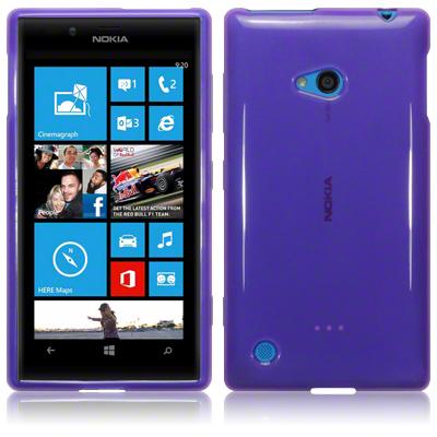 FlexiSkal till Nokia Lumia 720 (Lila)