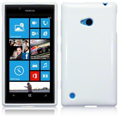FlexiSkal till Nokia Lumia 720 (Vit)