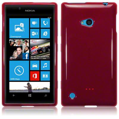 FlexiSkal till Nokia Lumia 720 (Röd)