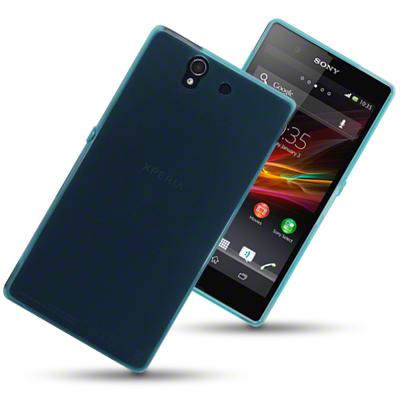 FlexiCase Skal till Sony Xperia Z (Blå)