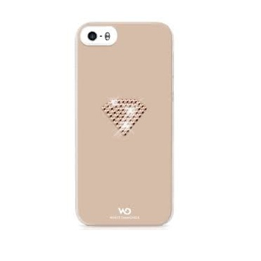 White Diamonds Rainbow skal till Apple iPhone 5/5S/SE- Rose Gold