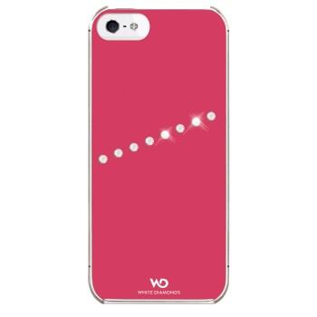 White Diamonds Sash Rosa Apple iPhone 5/5S/SE Skal