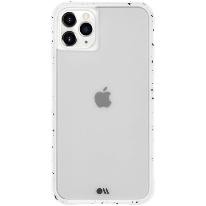 Case-Mate tough speckled skal till iPhone 11 Pro Max - Vit