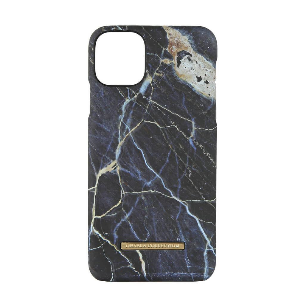 ONSALA COLLECTION Mobilskal  iPhone 11 Pro Max - Soft Black Galaxy Marble