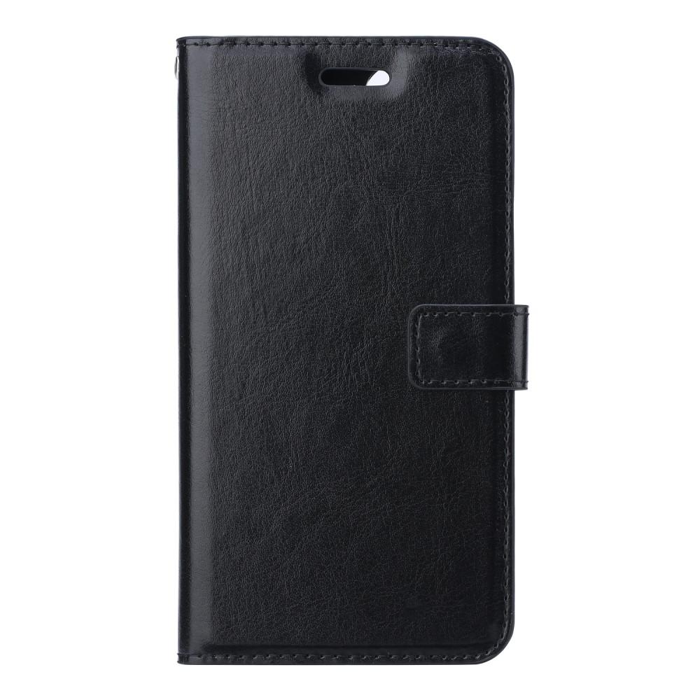 Crazy Horse Plånboksfodral till Samsung Galaxy S20 - Svart