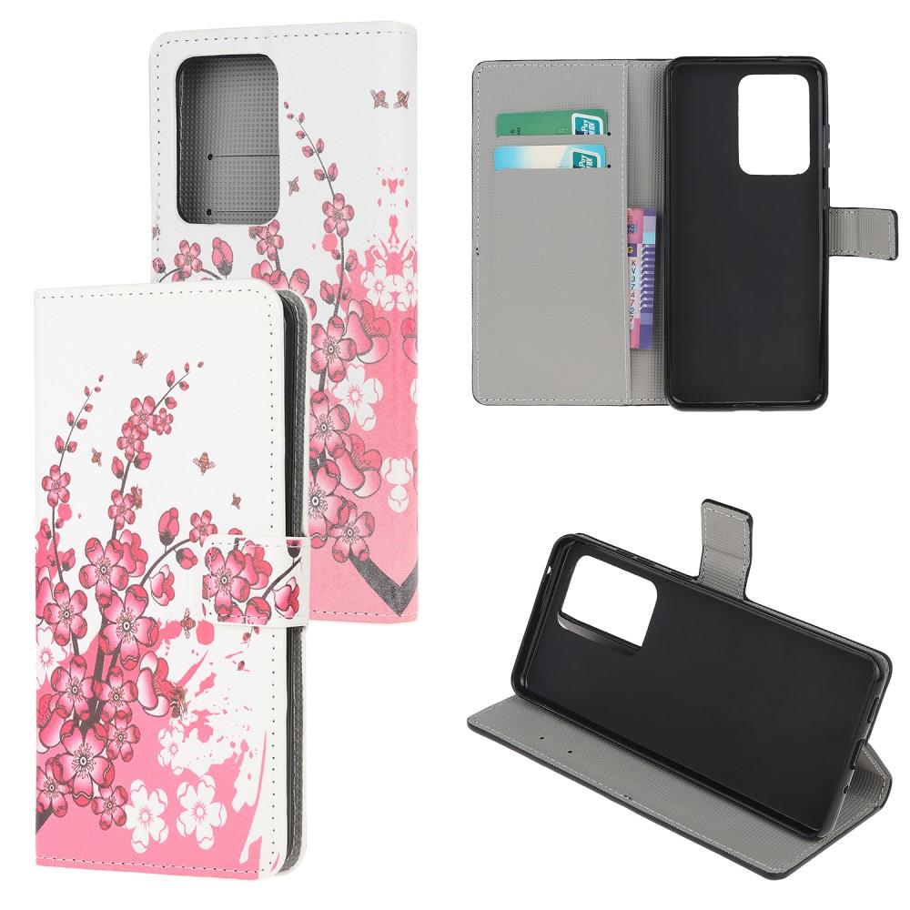 Plånboksfodral till Samsung Galaxy S20 Ultra - Plommonträd