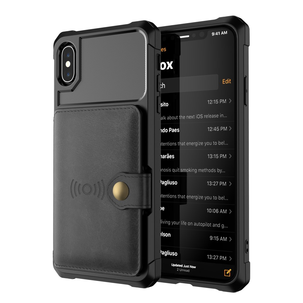 Mobilskal iPhone XS - Svart